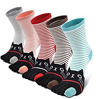 calcetines con dedos